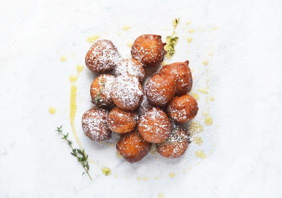 Orange ricotta doughnuts 4 www.insidetehrustickitchen.com
