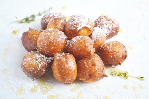 Orange ricotta doughnuts 8 www.insidetehrustickicthen.com