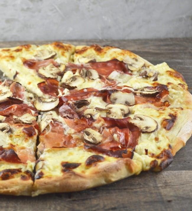 cheesy-speck-mushroom-pizza-9-www-insidetherustickitchen-com