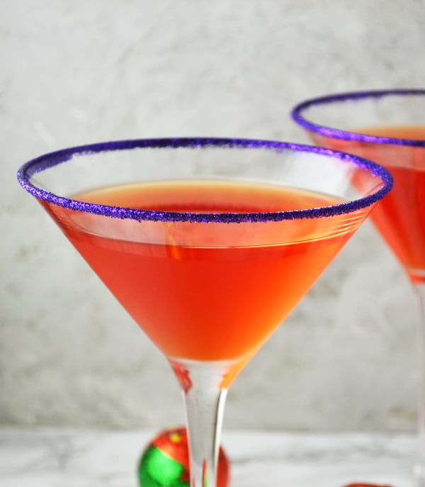 Happy Halloween! This Witches Brew Martini Recipe is perfect for your Halloween party. Let the fun begin!