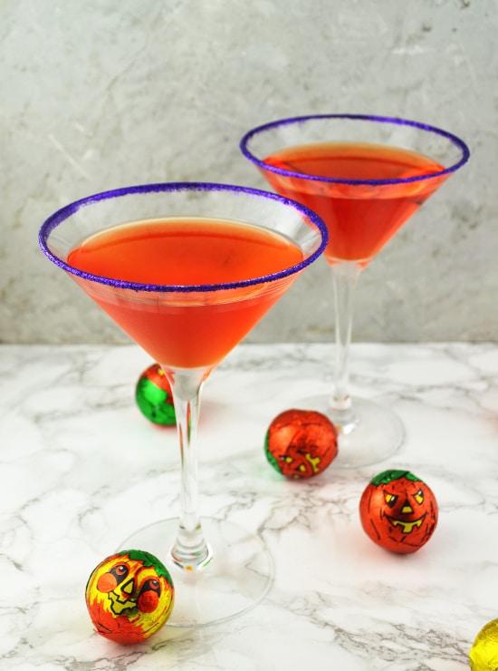 witches brew martini www.insidetherustickitchen.com
