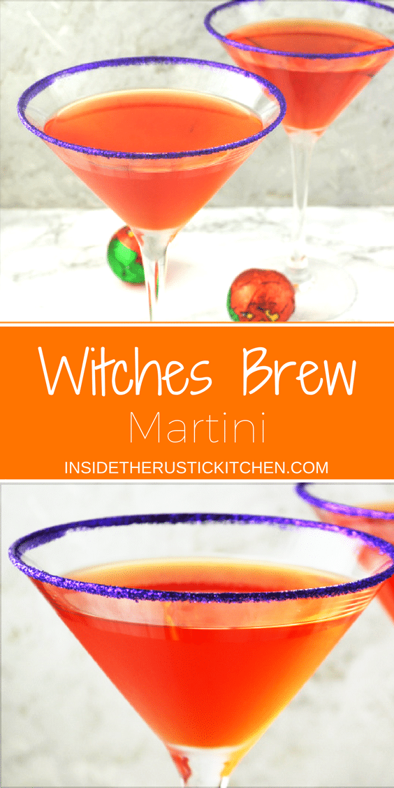 witches brew martini www.insidetherustickitchen.com