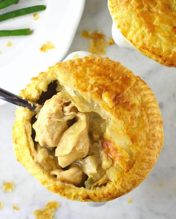 chicken and msuhroom pies www.insidetherustickitchen.com