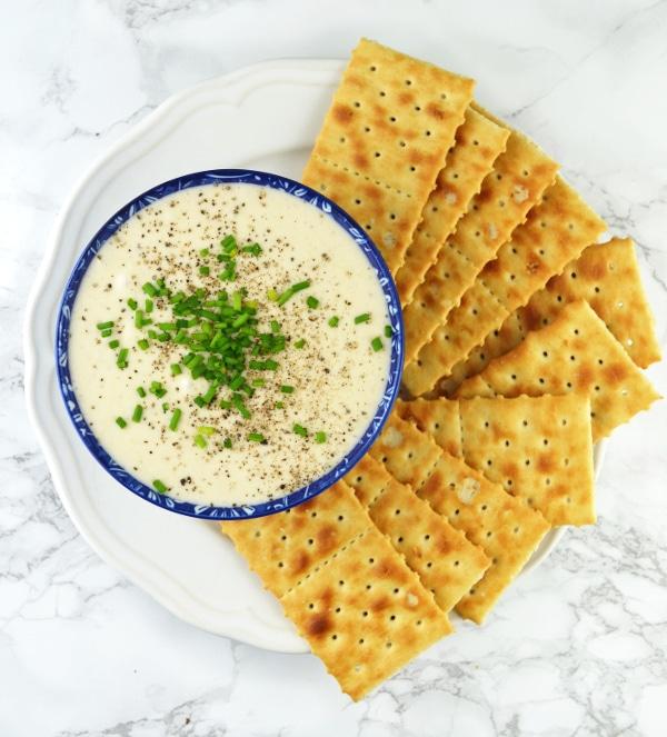 Taleggio white bean dip www.insidetherustickitchen.com