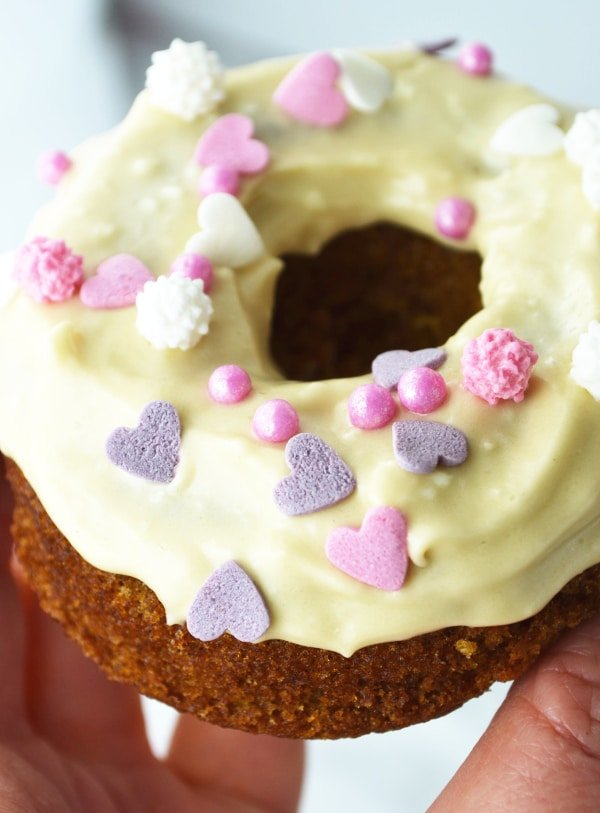 Carrot Cake Doughnuts with Maple Frosting - Inside The ...