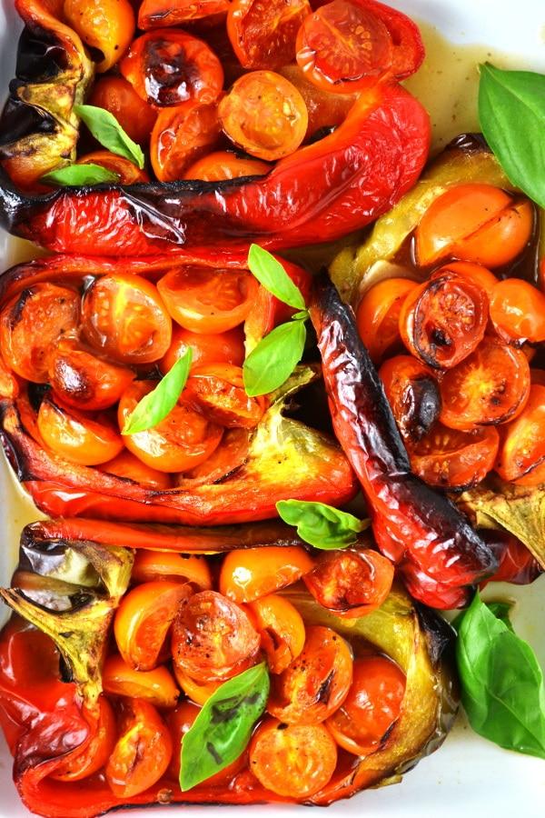 Italian stuffed peppers www.insidetherustickitchen.com