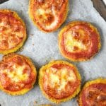These crispy fried zucchini pizza bites are super easy to make and are perfect party food for any occasion. Make these for a fun weekend nibble or as part of your party spread!www.insidetherustickitchen.com