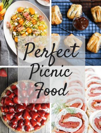 perfect picnic food recipes insidetherustickitchen.com