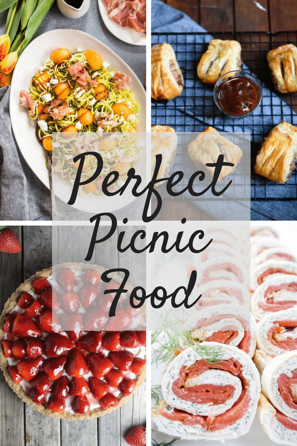 Perfect picnic food recipes inside the rustic kitchen