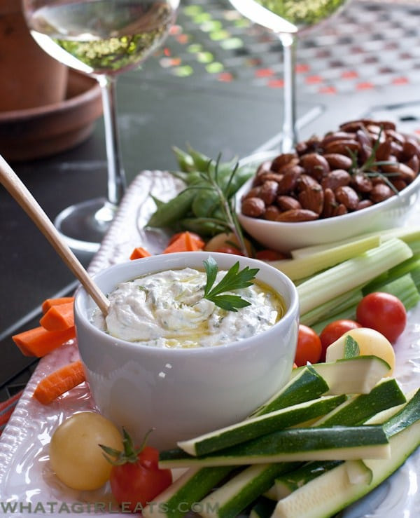 herbed goats cheese dip