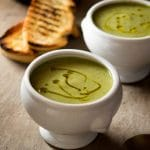 Zucchini potato soup recipe - A creamy easy zucchini soup that's comforting, warming and packed full of flavour. A great Italian soup recipe the whole family will love. Authentic Italian recipes and Traditional Italian recipes at Inside The Rustic Kitchen