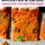 A pinterest graphic for Pizza Napoli