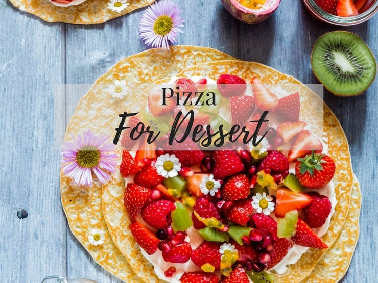 The ultimate guide to homemade pizzas dessert photo