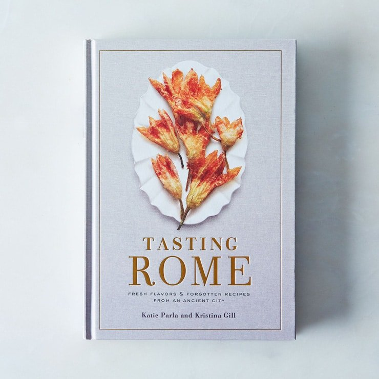 tasting rome cookbook for last minute foodie gift guide photo inside the rustic kitchen