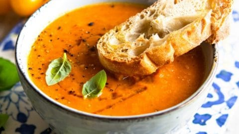 Roasted Tomato Soup – Creamy and Healthy