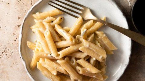 Penne with Creamy Gorgonzola Sauce
